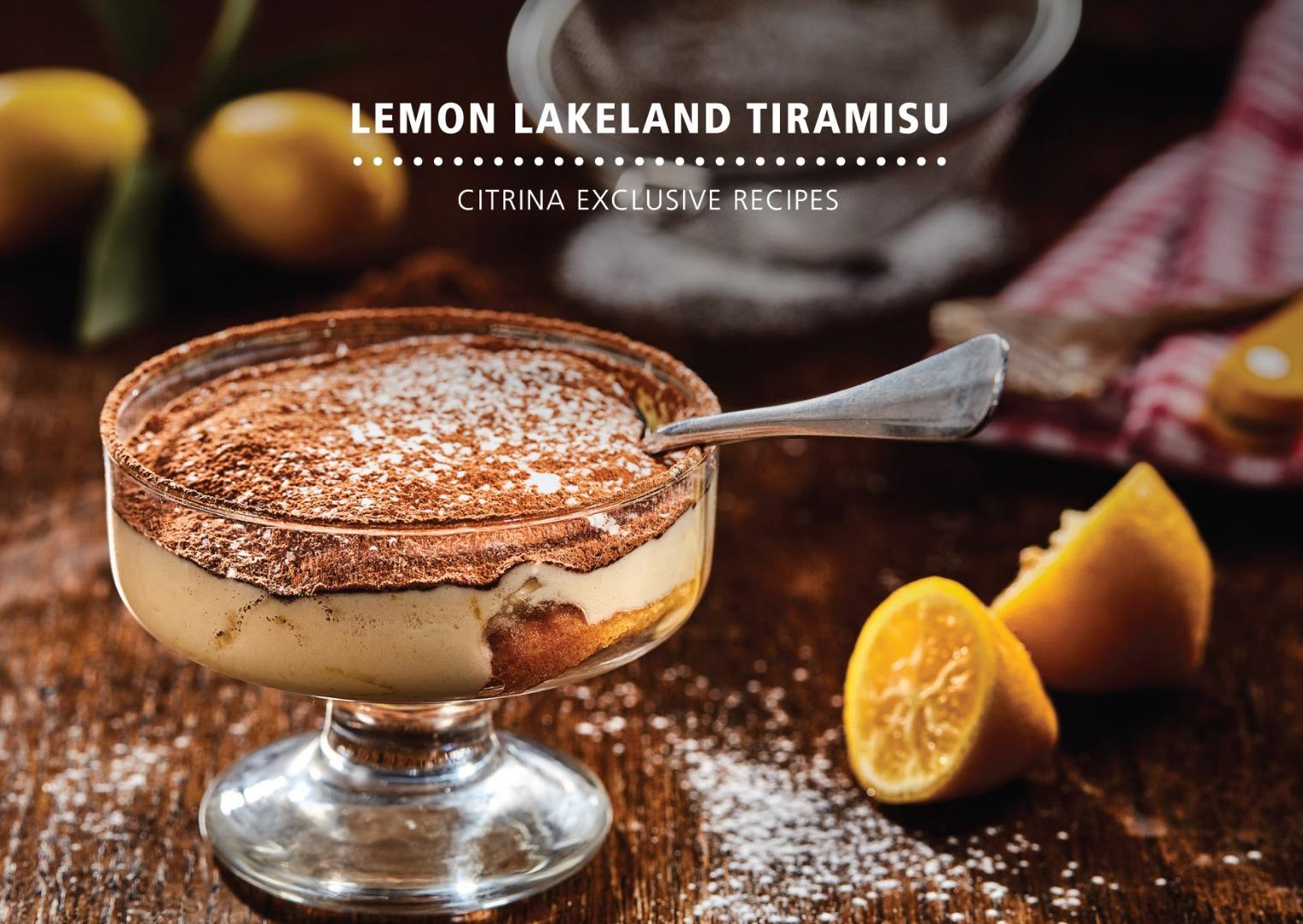 Lemon Lakeland - Lyvia Tiramisu de Limão Lakeland